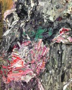Anselme Kiefer exhibition in Centre Pompidou, Paris. Bôse Blumen