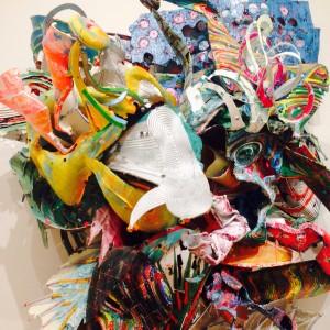 Frank Stella at Whitney